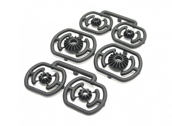 Diferencial Gear Set - 3Racing SAKURA FF 2014