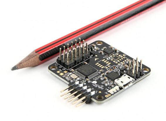 AfroFlight Naze32 Rev 5 Controlador FunFly Acro - versión soldada (Vertical Pin)
