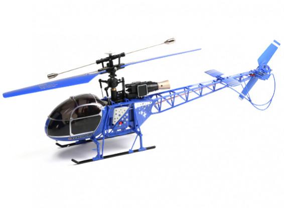 WLToys V915 2.4G 4 canales helicóptero (listo para volar) - Azul