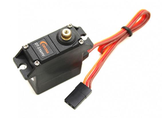 6kg Corona DT236HV alto voltaje del metal Digital Gear Parque Servo / 0.15sec / 27g