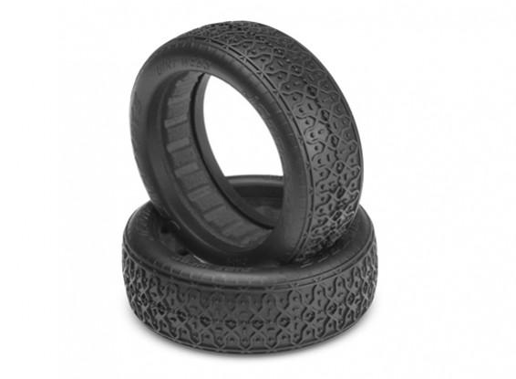 JConcepts Webs Dirt 1 / 10º 2WD Buggy Ruedas delanteras de 60 mm - Negro (Mega Soft) Compuesto