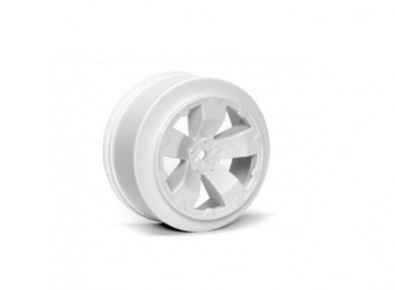 JConcepts peligro 1/10 de la rueda trasera del camión - Blanco