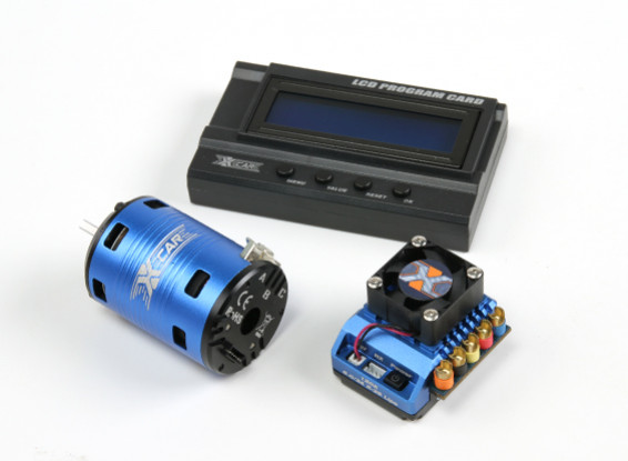 serie HobbyKing® ™ X-Car Motor bestia y 120A PRO ESC Combo 1/10 Escala