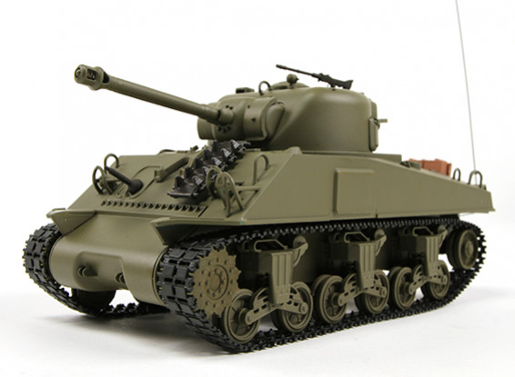 US-M4A3 Sherman Medio RC Tanque RTR w / Tx (Almacén AR)