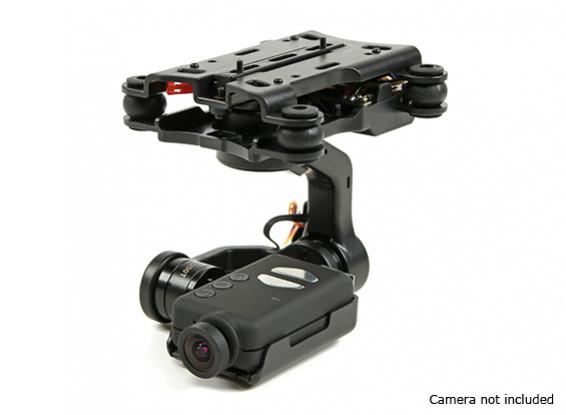 Quanum 3 ejes Mobius cámara en función del cardán