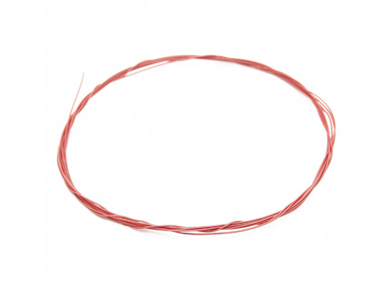 Turnigy alta calidad 36AWG teflón alambre cubierto 1m (rojo)