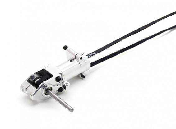 Asalto 450DFC Cinturón Flybarless 3D helicóptero de rotor de cola de caja de cambios con el eje y correa