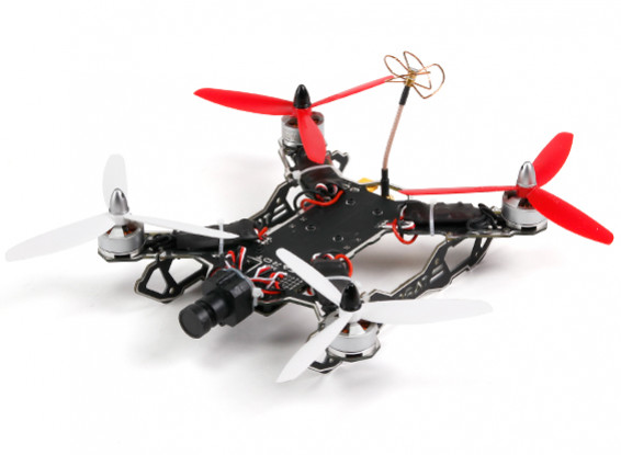 Tarot 200 Clase FPV Mini través de la máquina de Quadcopter (PNF)