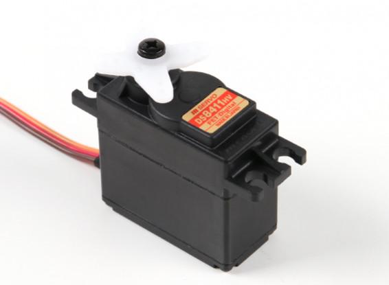JR DS8411HV alto voltaje Digital Servo con engranajes de metal 60g / 17.3kg / 0.15s