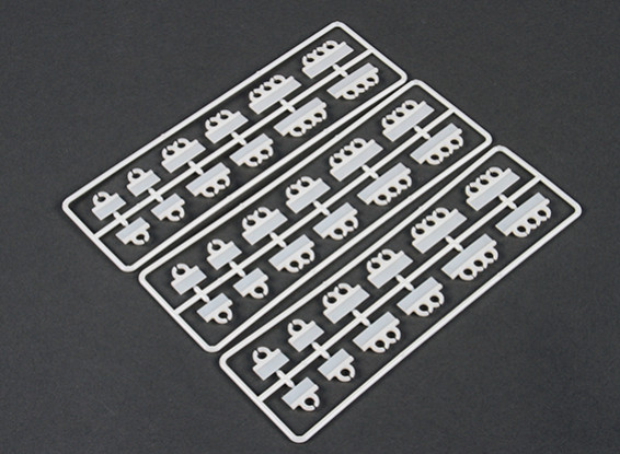 Montaje aéreo vertical Conjunto ordenado de Clip (36 piezas)