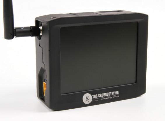 TBS FPV LCD de 4 pulgadas de doble banda de 2,4 GHz 8Ch Groundstation