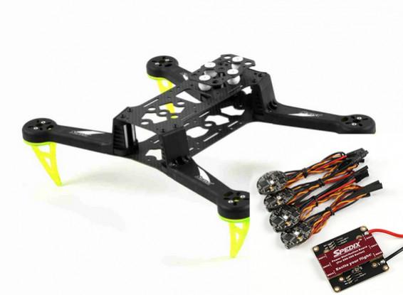Kit Spedix S250Q Racing Drone w / ESC Combo AP