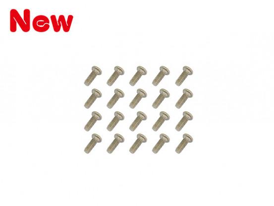 Gaui 100 y 200 Tornillos Mechine (M1.4x4) X20pcs