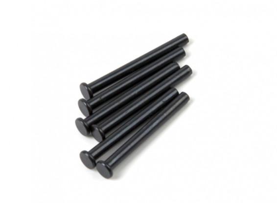 BSR Beserker 1/8 Truggy - inferior del amortiguador del Pin (6pcs) 950331