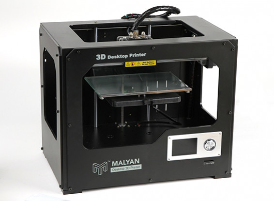 Malyan impresora M180 de doble cabezal 3D - enchufe de Reino Unido