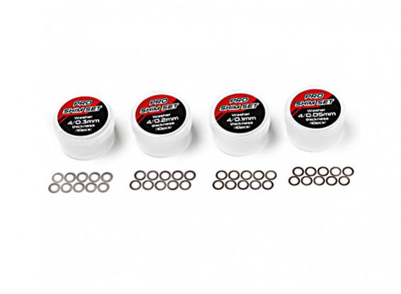 TrackStar Pro Calce Set - 4 mm interior (10 piezas)