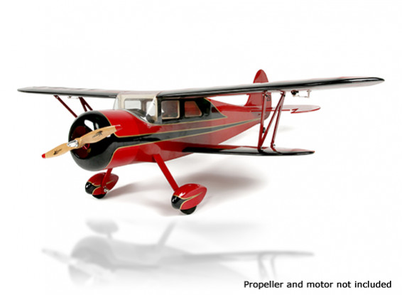 HobbyKing Waco biplano SRE 1300mm Balsa (ARF)