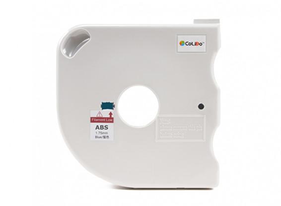 CoLiDo 3D Filamento impresora 1.75mm ABS 500g Carrete w / Cartucho (azul)