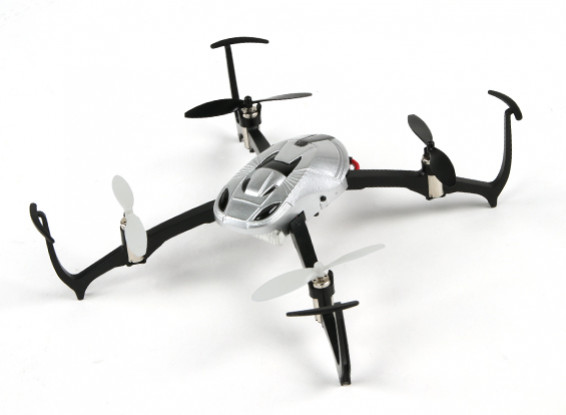 Raider modo de Micro 3D Quadcopter RTF 2