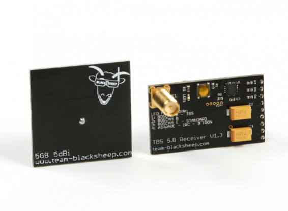 TBS DOMINATOR RX (5,8 GHz) V1.3