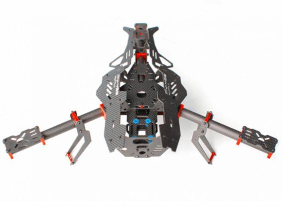 Mosquito Y400 400mm 3 ejes cuadro de fibra de Tricopter (Y6 CONFIG)