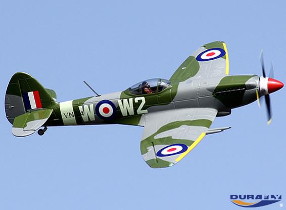 Durafly ™ Mk-24 Spitfire con Retrae / flaps / luces de navegación w / 40A ESC (PNF)
