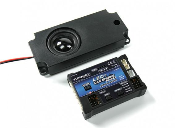 Sistema de sonido de motor de coche LED y Turnigy