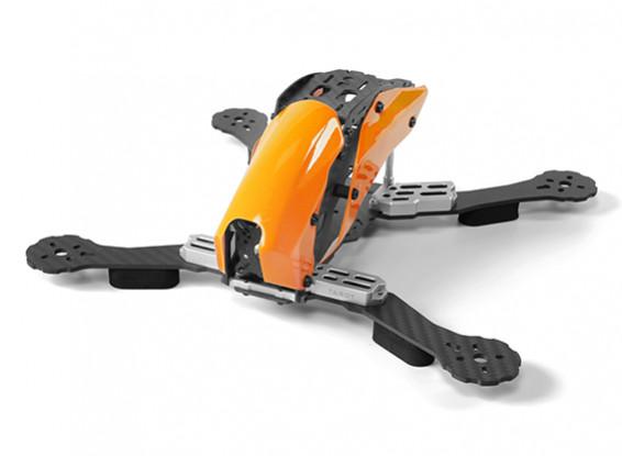 Tarot Espacio TL280C A través de la máquina FPV fibra de carbono total (naranja) Solo Armazones