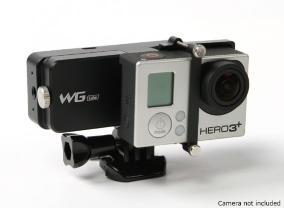 FEIYU Tech WGS Lite solo eje cardán usable para GoPro Hero 3 / 3plus / 4 o similares Tamaño