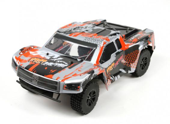 Juguetes del WL 1/12 l979 2WD alta velocidad Curso Corto Truck w / sistema de radio de 2,4 GHz (RTR)