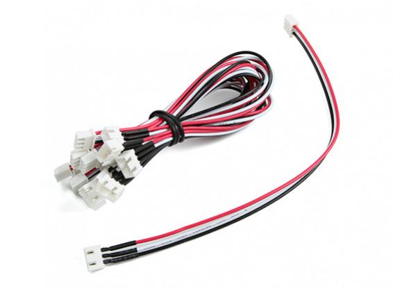 20cm JST-XH 2S Cable de extensión (10pcs / bag)