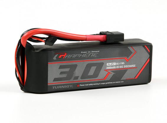 El grafeno Turnigy 3000mAh 65C Lipo 4S paquete w / XT90