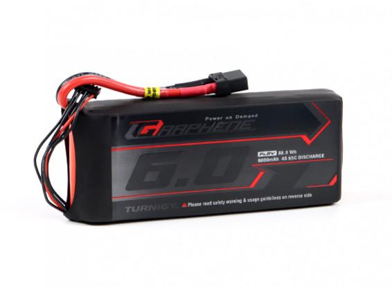 El grafeno Turnigy 6000mAh 65C Lipo 4S paquete w / XT90