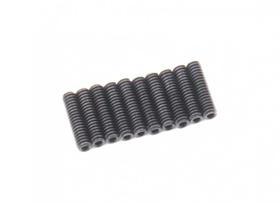 De metal tornillo de cabeza hendida M2x8-10pcs / set