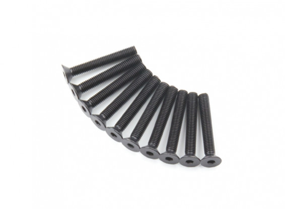 Plano del metal Machine Head Tornillo hexagonal M5x35-10pcs / set
