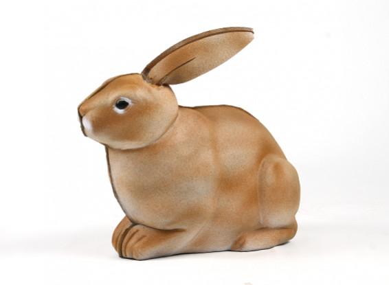 Conejo portátil 3D de destino