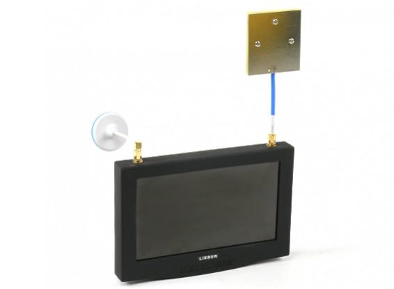 """7 """"monitor FPV con el receptor incorporado Lieber"""