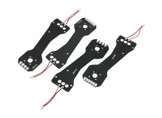 Jumper 218 superior de los brazos Pro con LED (4pcs)