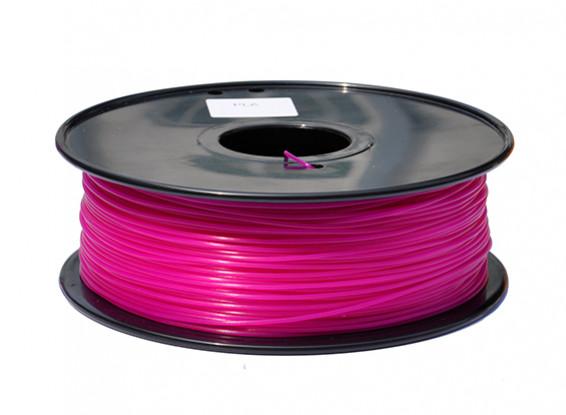 HobbyKing 3D Filamento impresora 1.75mm PLA 1kg Carrete (rosa oscuro)