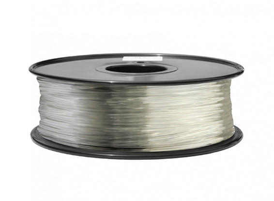 HobbyKing 3D Filamento impresora 1.75mm ABS 1kg Carrete (Claro)
