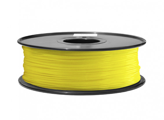 HobbyKing 3D Filamento impresora 1.75mm ABS 1kg Carrete (amarillo)