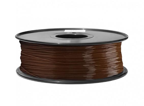 HobbyKing 3D Filamento impresora 1.75mm ABS 1kg Carrete (P.732C Brown)