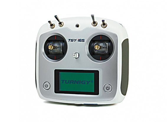 Turnigy TGY-i6S Mode 2 Sistema de Control de Radio Proporcional Digital (blanco)