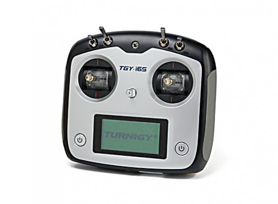 Turnigy TGY-i6S Mode 2 Sistema de Control de Radio Proporcional Digital (negro)