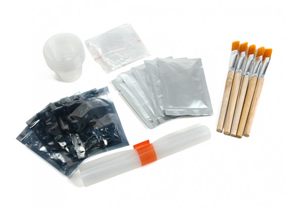 La impresión 3D líquido de revestimiento de superficie (plata)