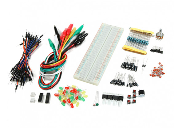 Fundación Arduino y el kit de componentes del proyecto