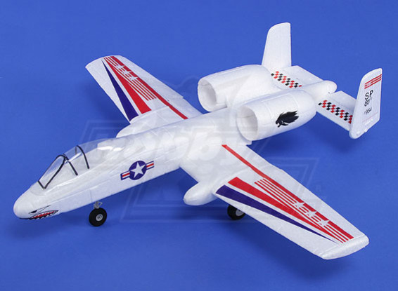 Micro A-10 Jet Blanca para EDF 30 mm x 2 (KIT)