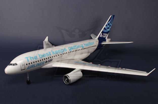 Airbus A320 R / C avión EPO Plug-n-Fly
