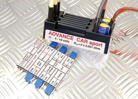 Controlador de velocidad sin escobillas Deporte jeti avance de coches