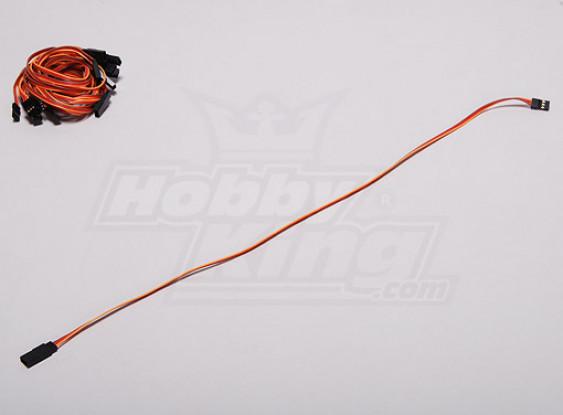 45CM Servo cable de prolongación (JR) de 26 AWG (10pcs / set)